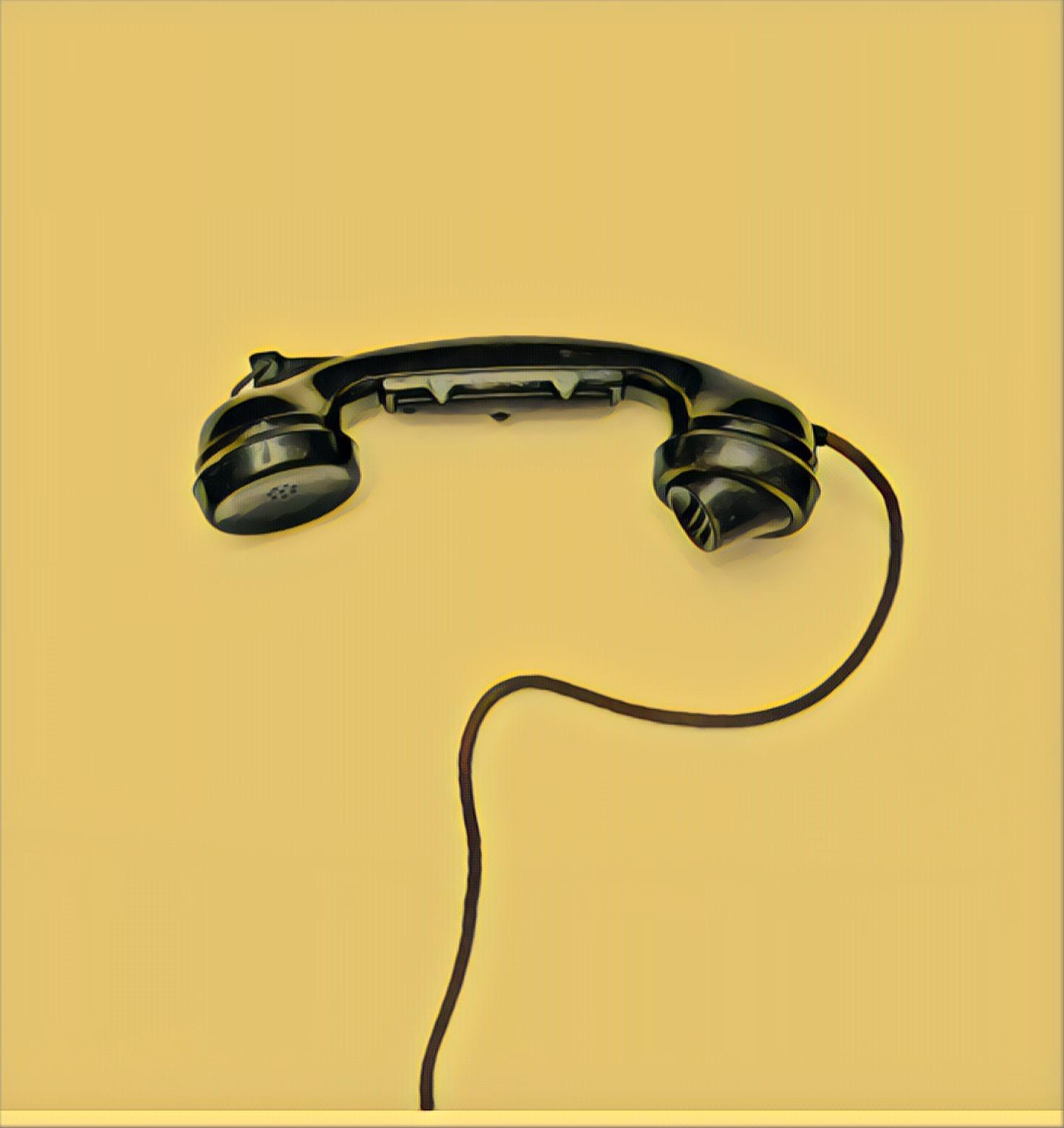 combiné téléphone type ancien